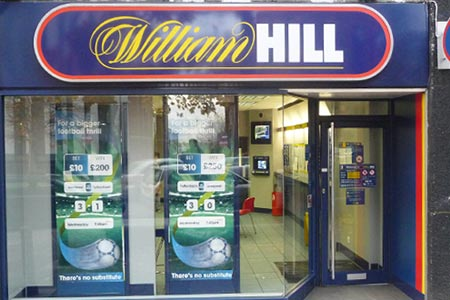 William Hill to Close 109 UK Betting Shops