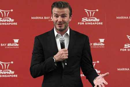 David Beckham Moves into Asian Casino Promotion