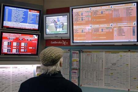 Hedge Funds Gamble on Fall of Bookmaker Shares