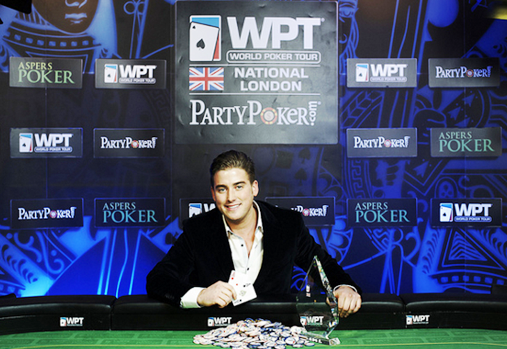 Reece Lewis Wins inaugural World Poker Tour National London Event
